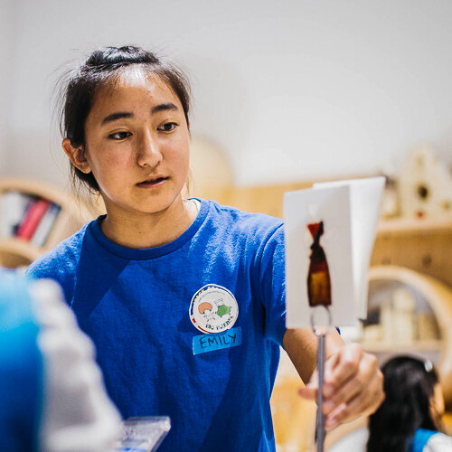 Emily Takara  Student maker, Nest Makerspace  Cupertino, USA