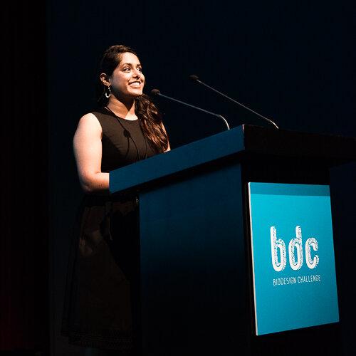 Veena Vijayakumar    Program Manager, Biodesign    Challenge, NYC