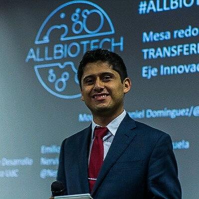 Daniel Domínguez-Gómez    Co-founder, Allbiotech    México City, Mexico
