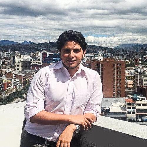 Diego Alberto Jarrín Valencia    Biotechnology engineer    Quito, Ecuador