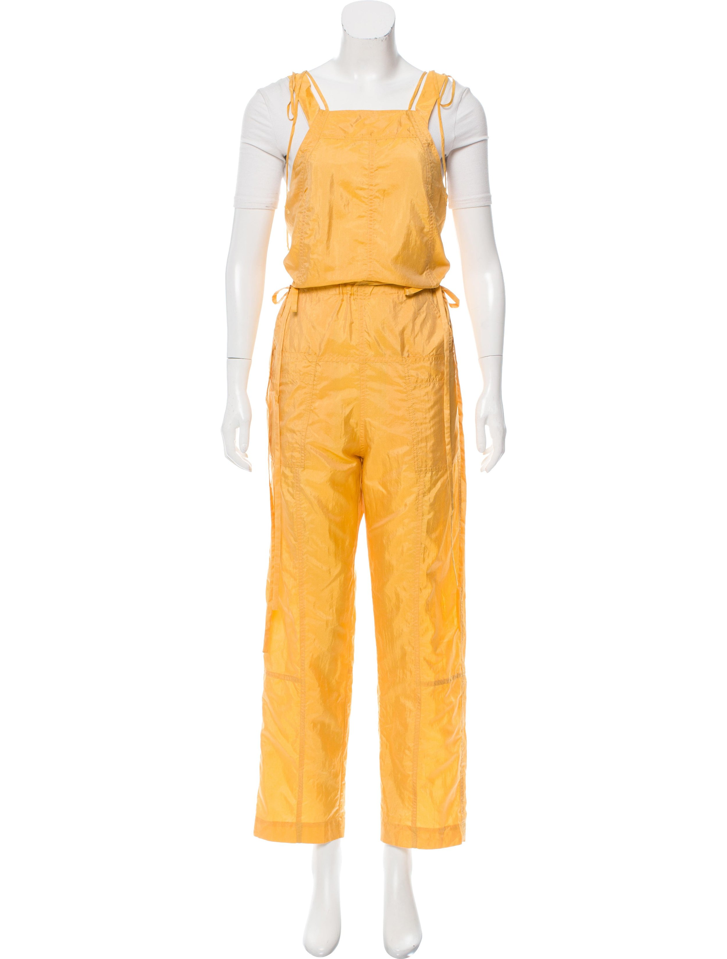 ISABEL MARANT SLEEVELESS WIDE-LEG JUMPSUIT; Size: US 2; $195.00