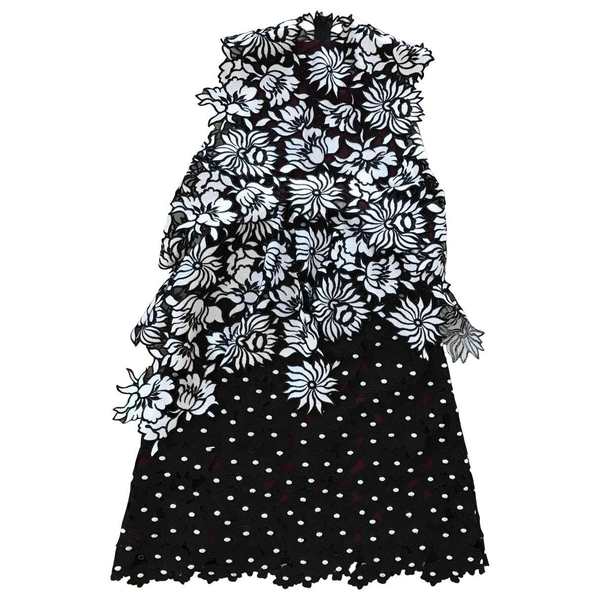 SELF PORTRAIT Black Mini Dress; Size: 8 UK; $229.85