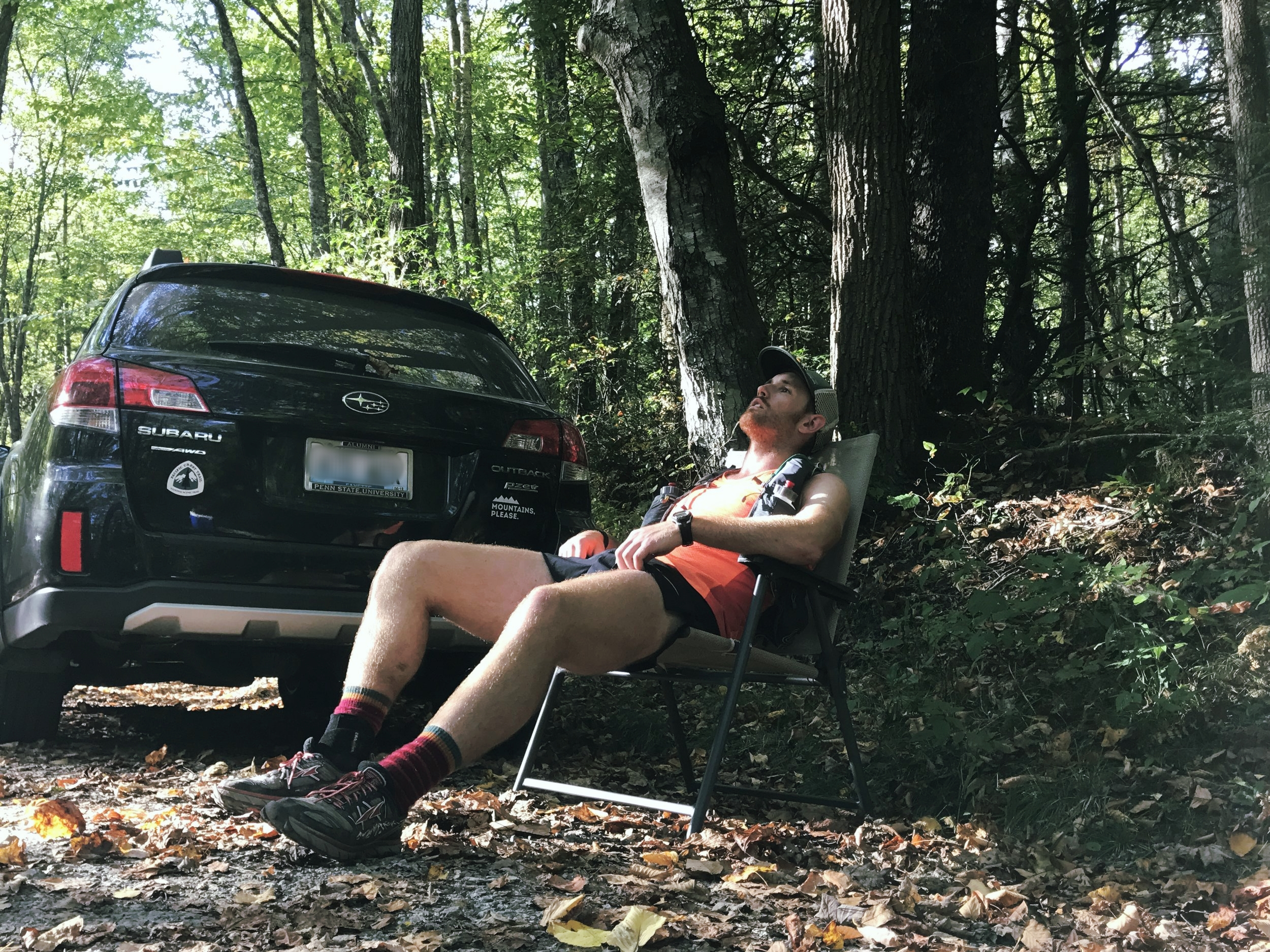 Random Dirt Road, access to trailheads, and great spot to relax after a long run. 9/2017