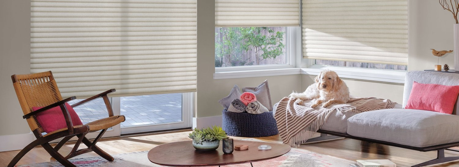 Sonnette™ Cellular Roller Shades - Exclusive to Superblinds and Draperies, Regina's only Hunter Douglas Gallery Dealer.Sonnette™ Cellular Roller Shades gently diffuse light through an innovative curved shape; providing ambiance and character while dispersing light to all angles of the room.
