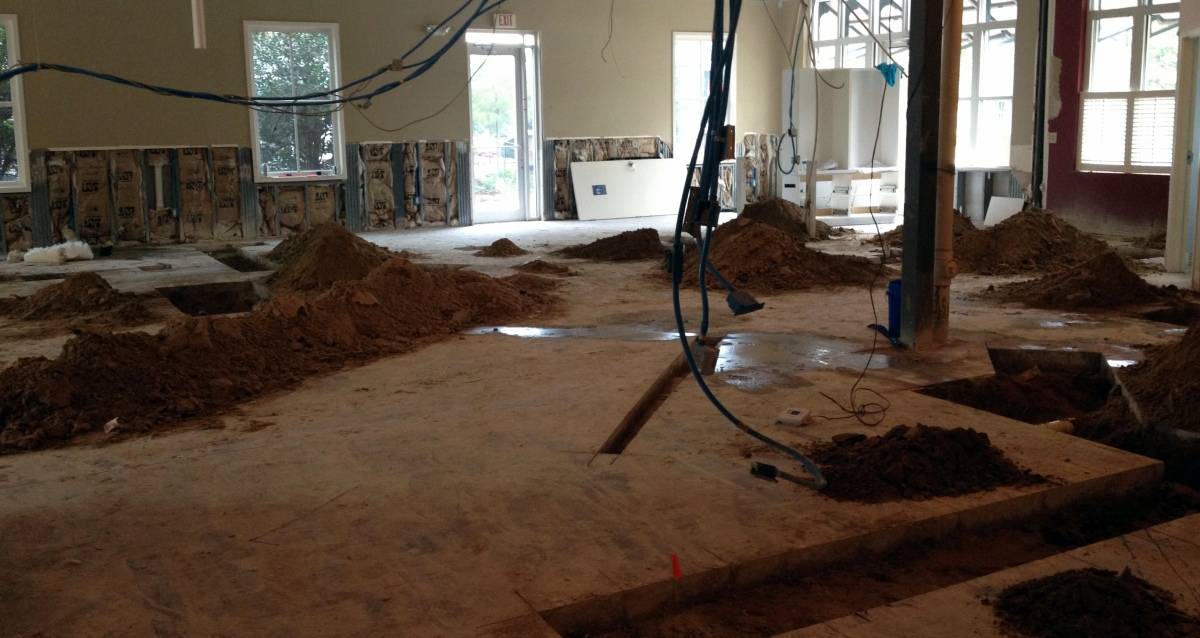Concrete Cutting for Plumbing