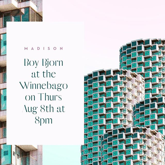 Oh hey we're playing a show this Thursday at the Winnebago. Bring a frand. 🦊👍✌️