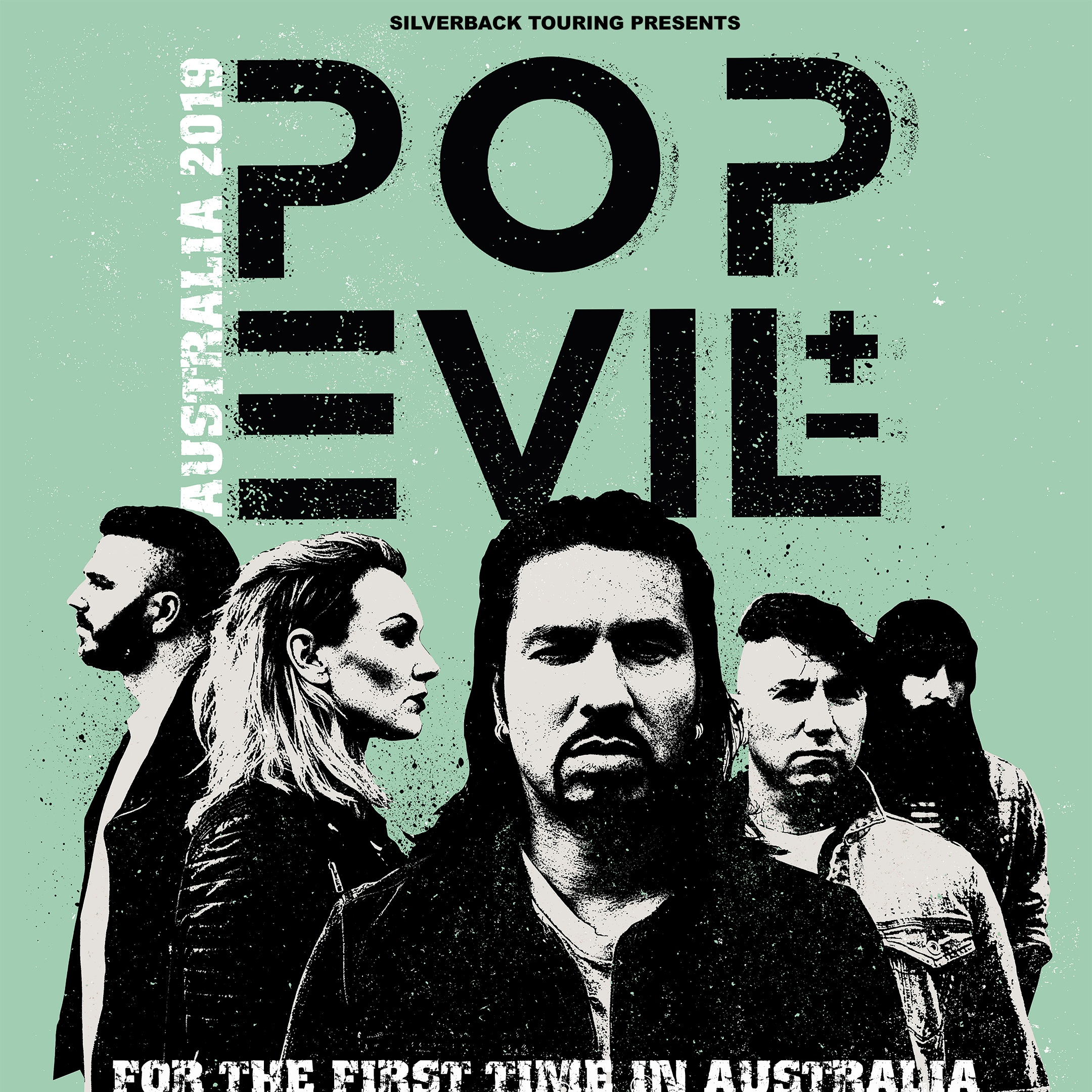 "POP EVIL, 20/03/2019 - ""POP IS EVIL"""