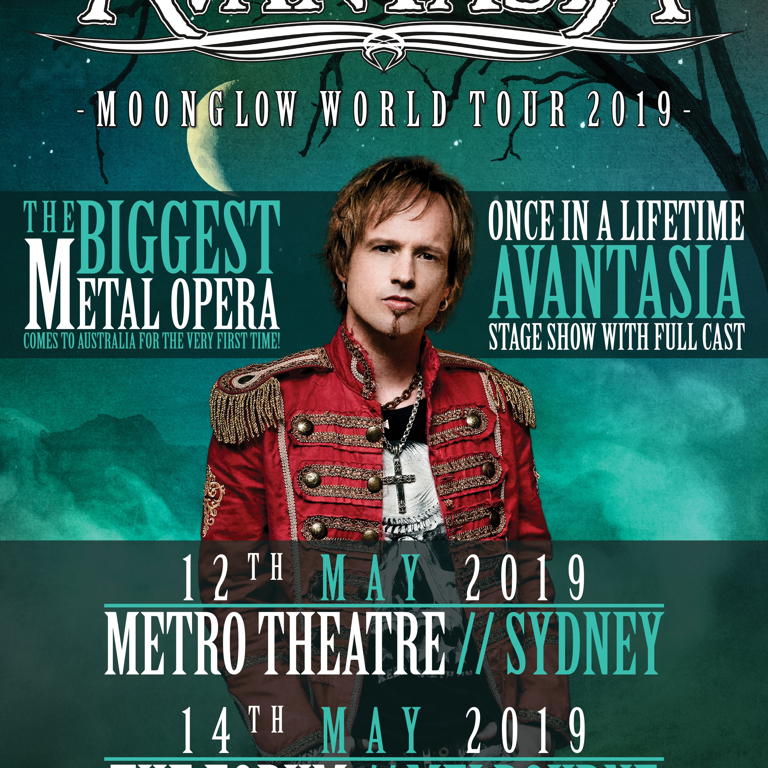 AVANTASIA, 22/04/2019 - SAY FAREWELL TO REALITY!