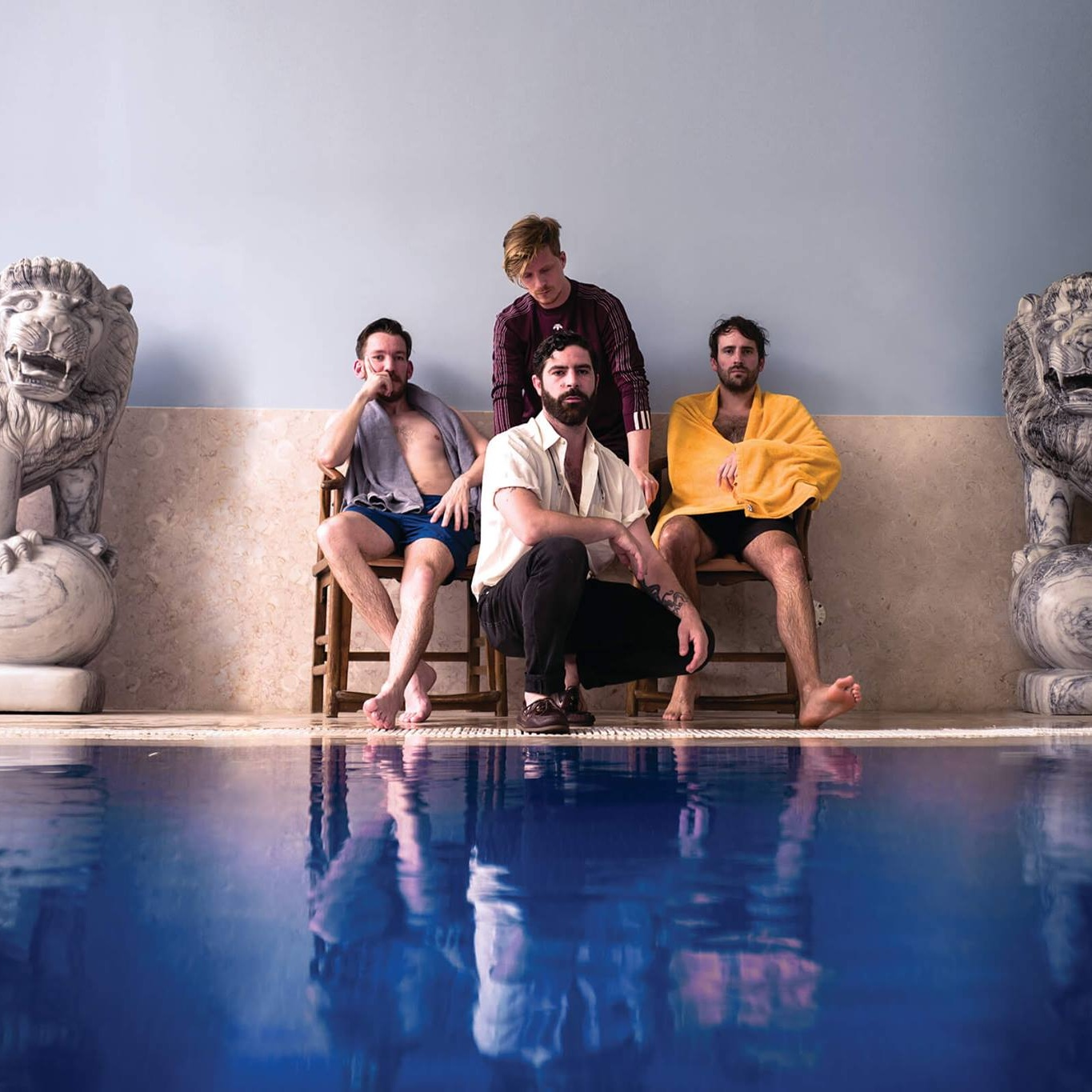 FOALS, SYDNEY 17/07/2019 -  COME RIDE THE OLYMPIC AIRWAYS!