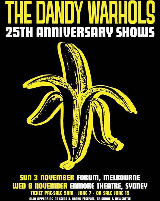 """HORSHACK!""  https://www.keeneye4concerts.com/interviews-1/2019/10/19/the-dandy-warhols-podcast-interview-with-brent-drums-october-18-2019   The Dandy Warhols #thedandywarhols #whyyousocrazy? #25thanniversary #Australiantour #psychedelic #indiepop #indiemusic #popmusic #psychedelicband #podcastinterview #artistinterview #hilarious #WTF #musicpress #musicjournalism"