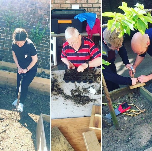 Gardening sessions at John Archer Hall