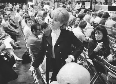 Debbie at the MGM Auction in 1970.
