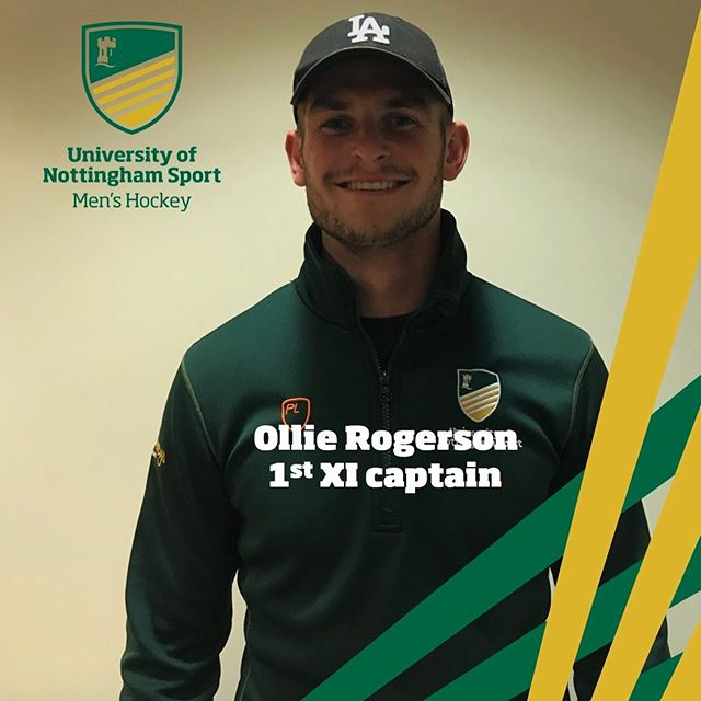 """Meet the committee  Last of the captains...Rog  Year: 3rd Course: Economics Badger rating: 4/10 Favourite UoNHC memory: """"Winning the BUCS league last year unbeaten""""  #betterthanrory #betterthanhodge #notasgoodascoggie"""