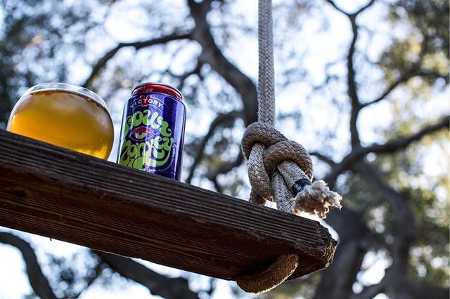 Savoring a sour on a swing