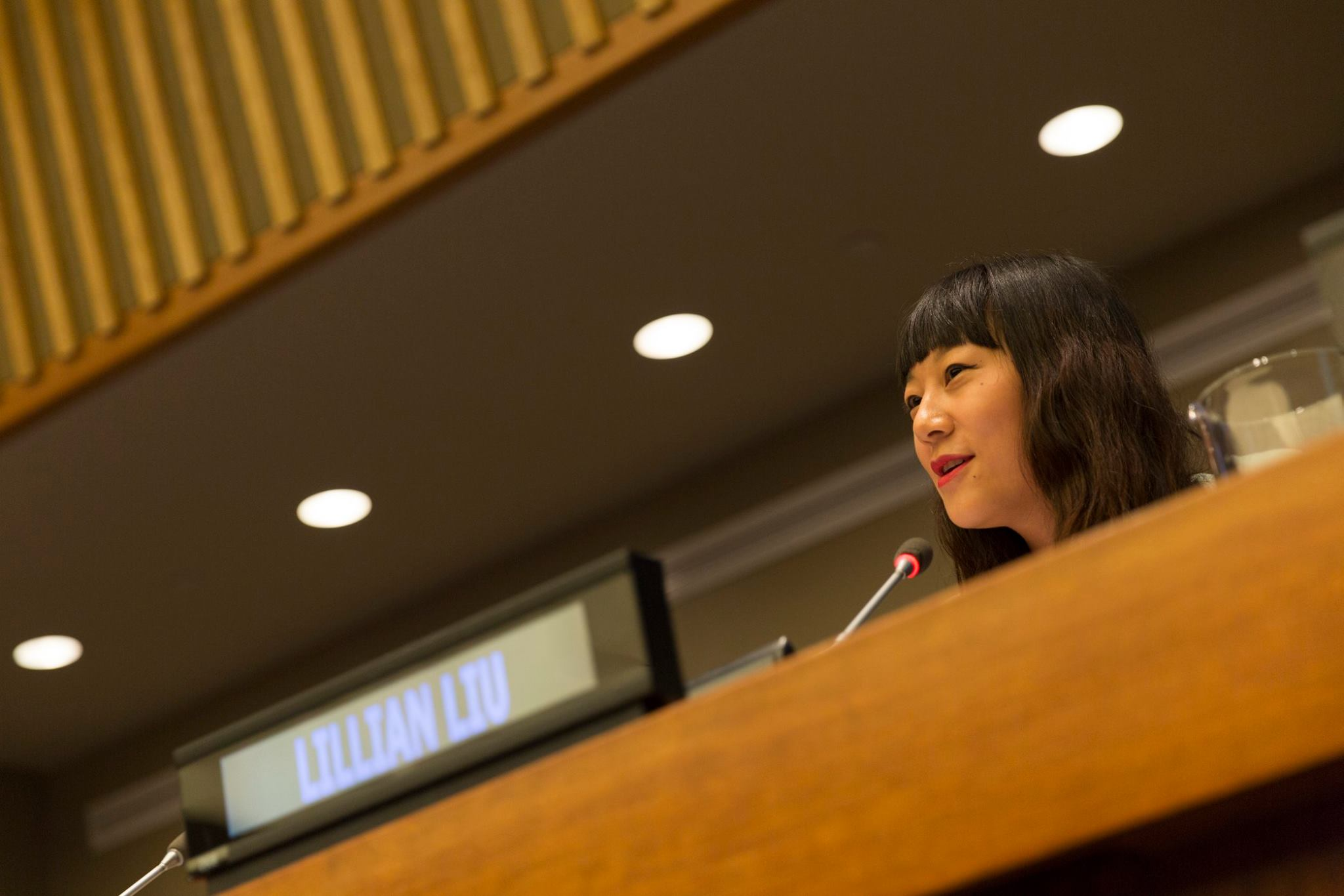 Lilian Liu, manager of partnerships & UN relations at the United Nations Global Compact