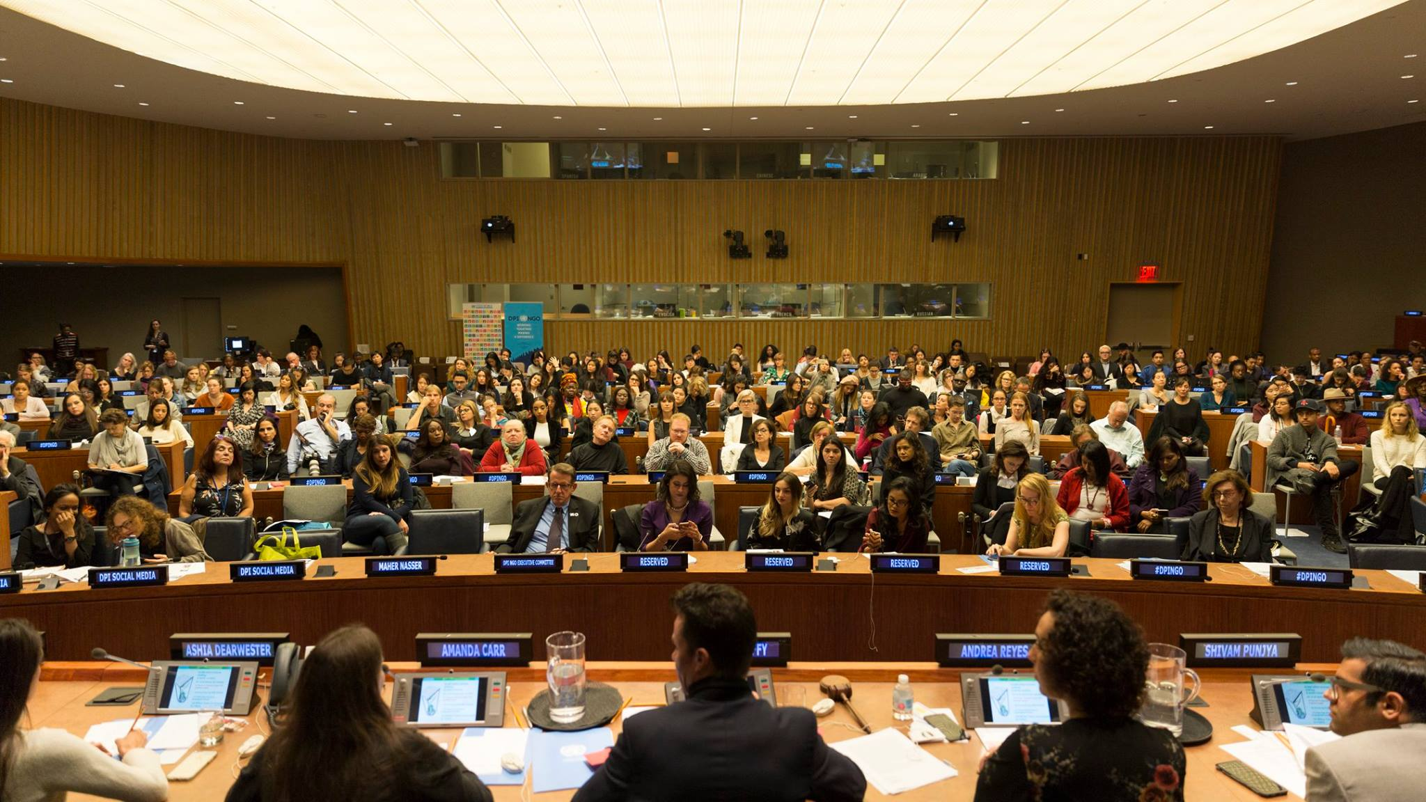 More than 700 guests gathered at the United Nations, New York City
