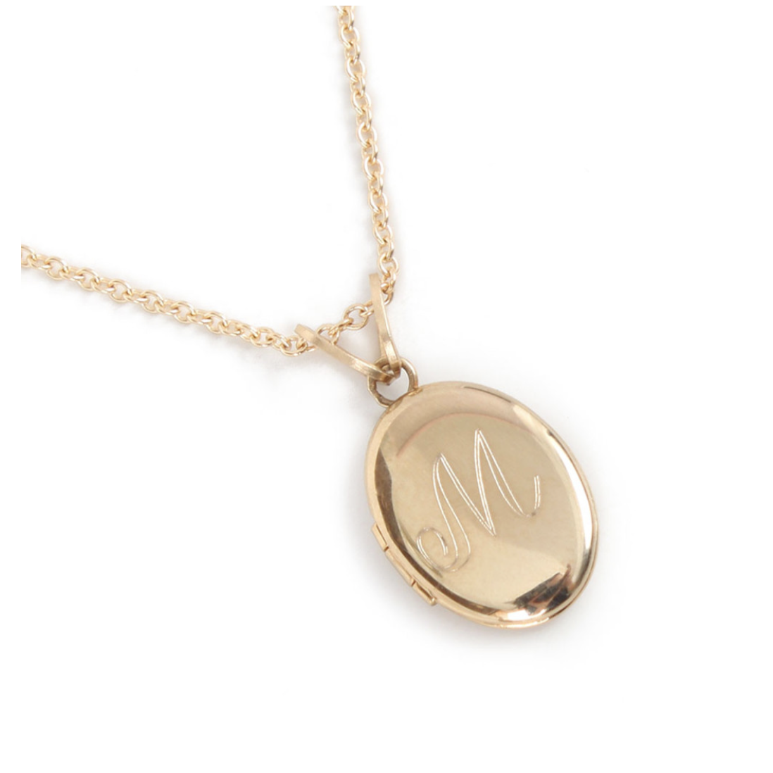 Dollhouse Locket - $168, www.CatbirdNYC.com