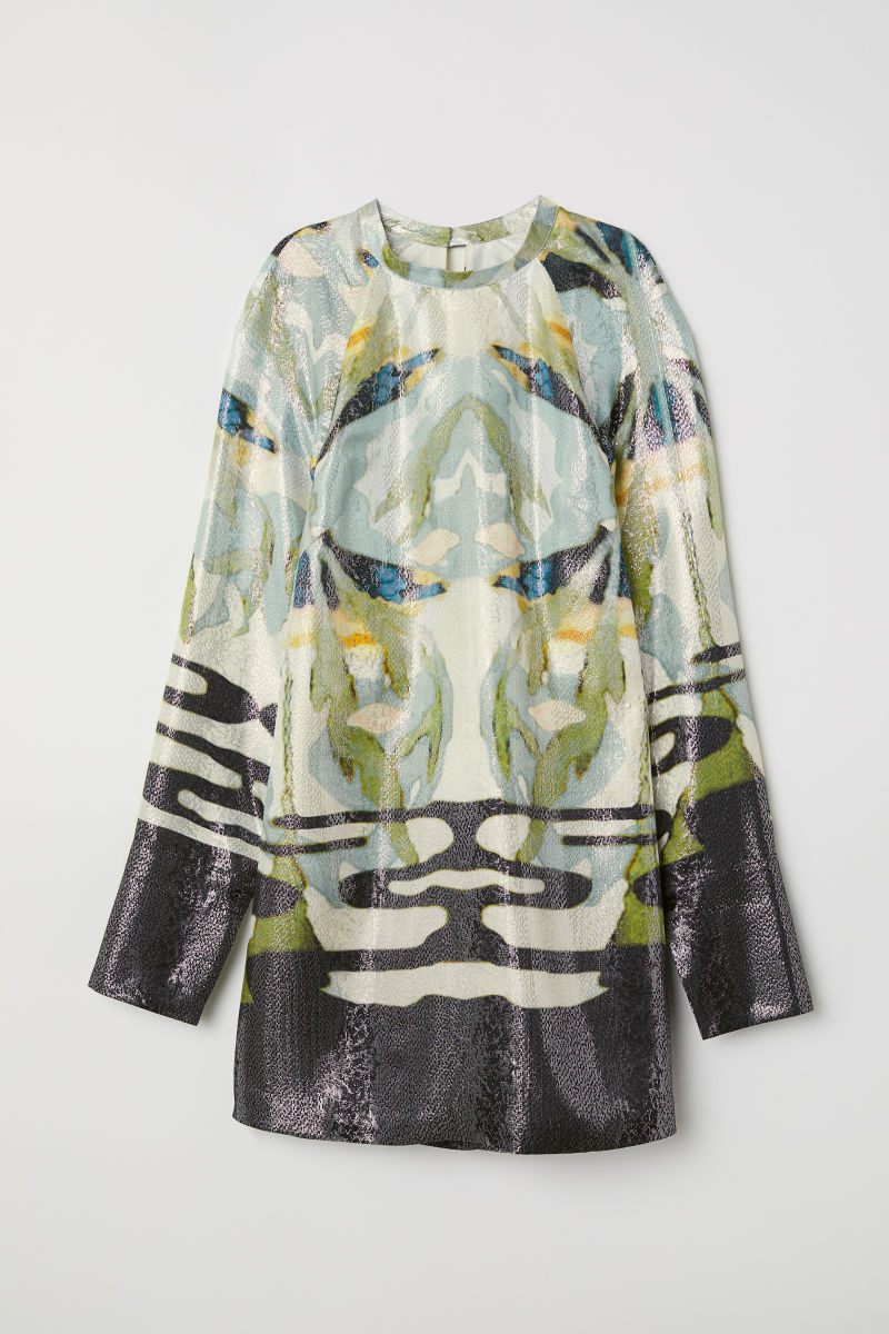 Lyocell and Silk Dress - $99