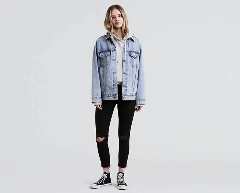 - Levi's Wedgie Fit Skinny Jean, $69.50