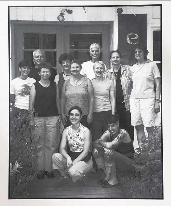Penland School of Crafts , NC, outside Upper Metals. 2005