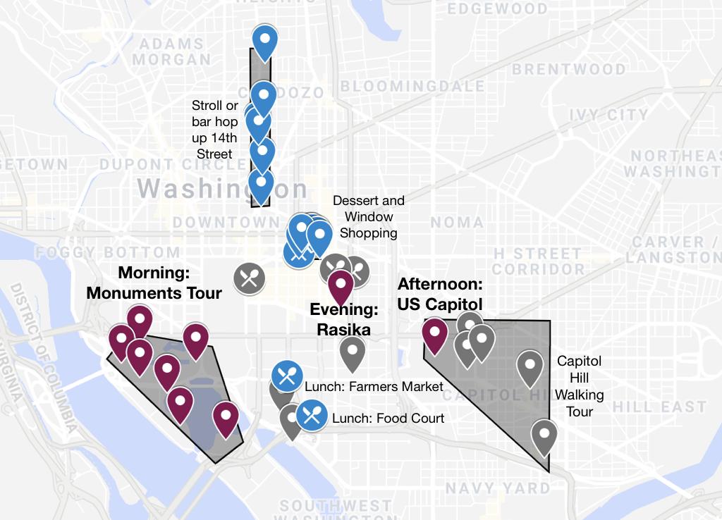 Urban Atlas - Washington DC Classics in One Day