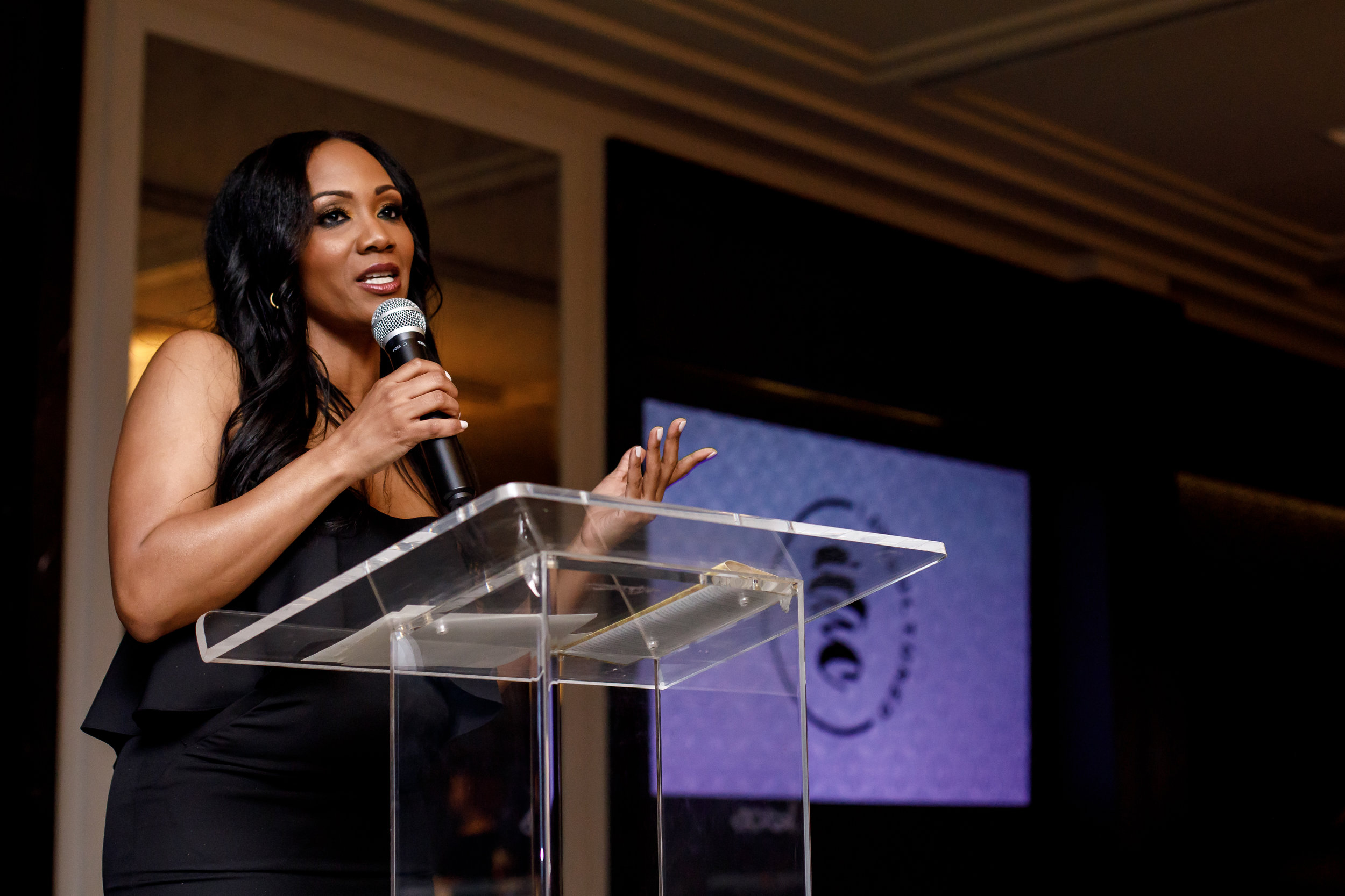 Tiffany Withers, Gala Host