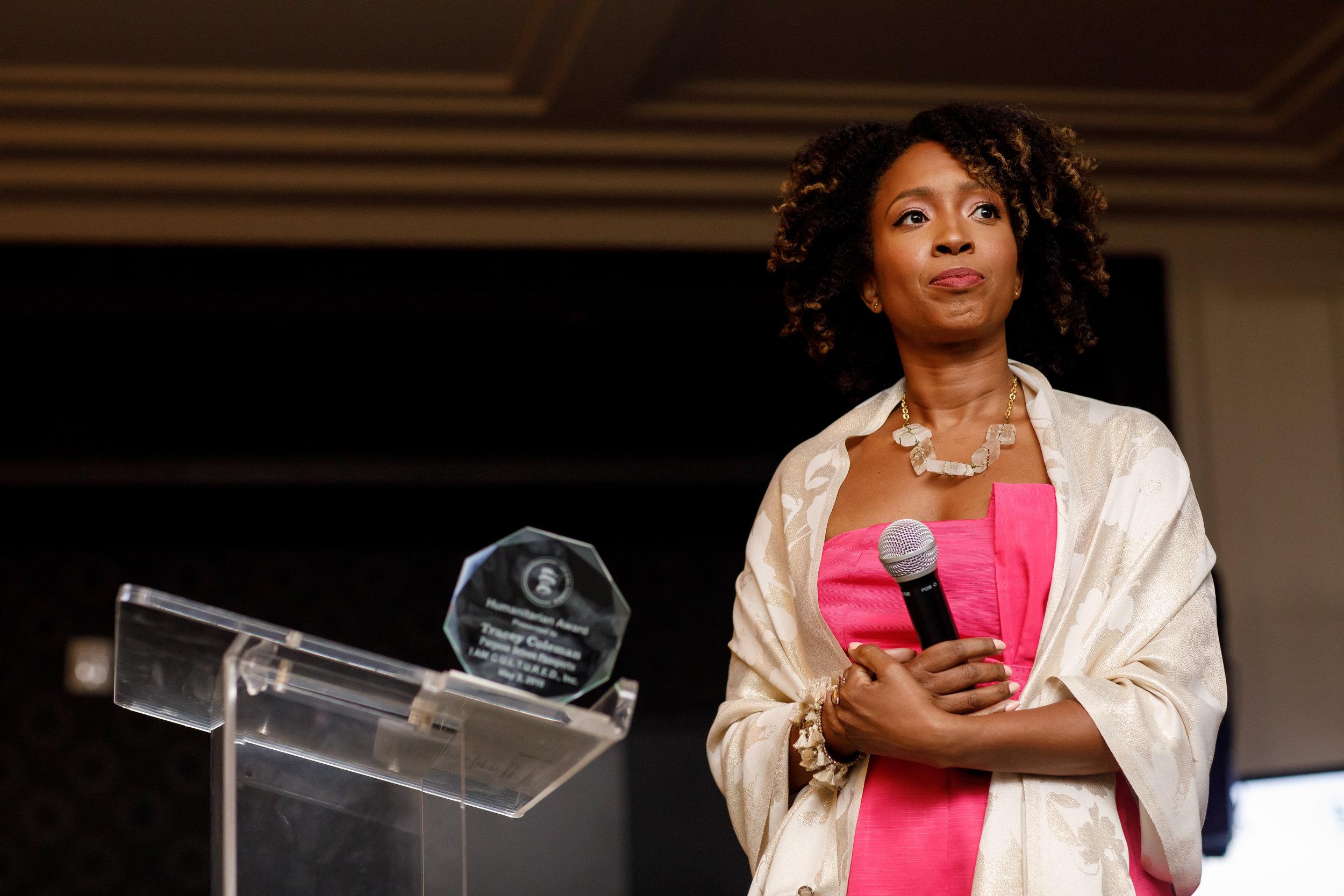 Tracey Coleman, I AM C.U.L.T.U.R.E.D Humanitarian Award