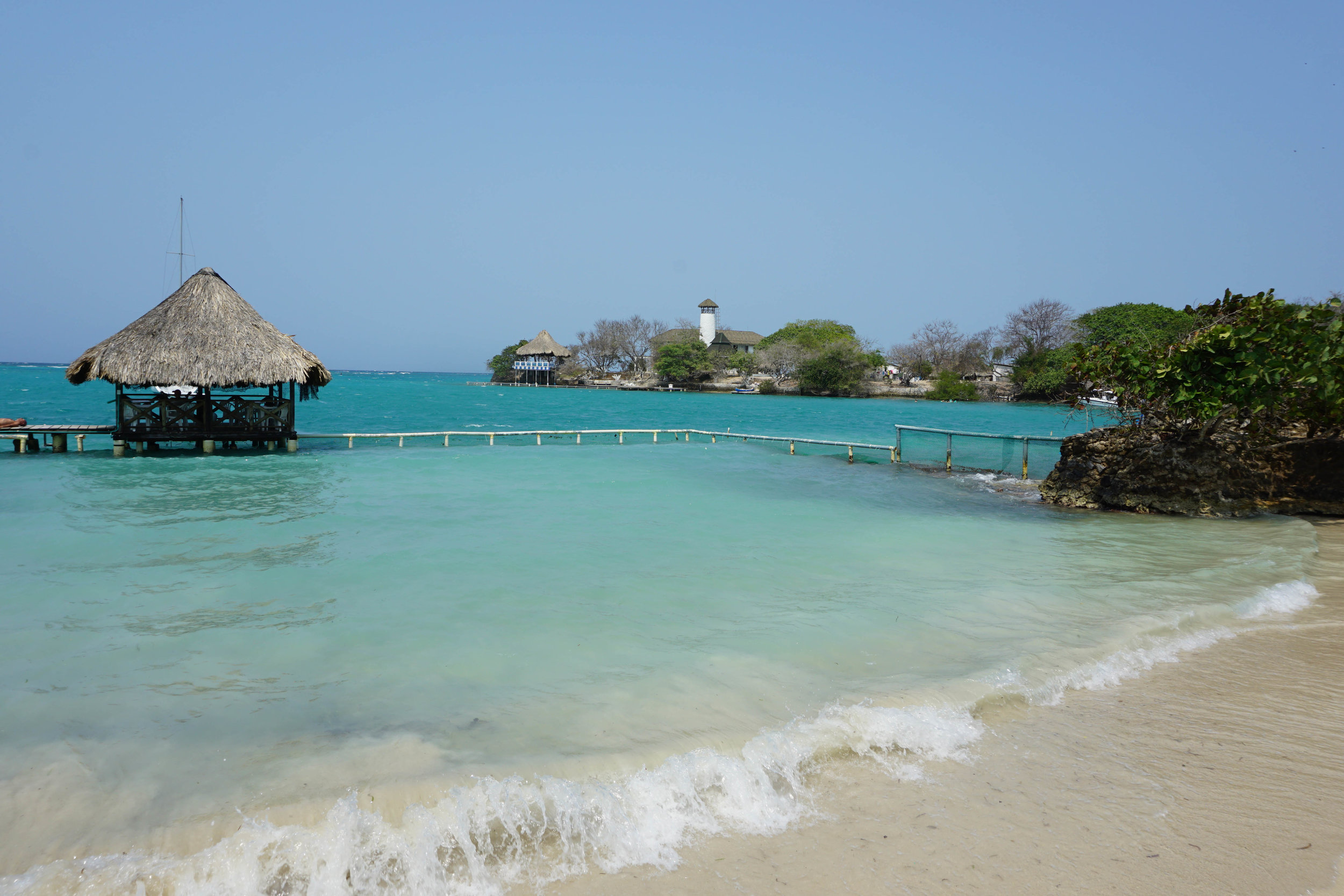Islas del Rosario, an archipelago off the coast of Cartagena