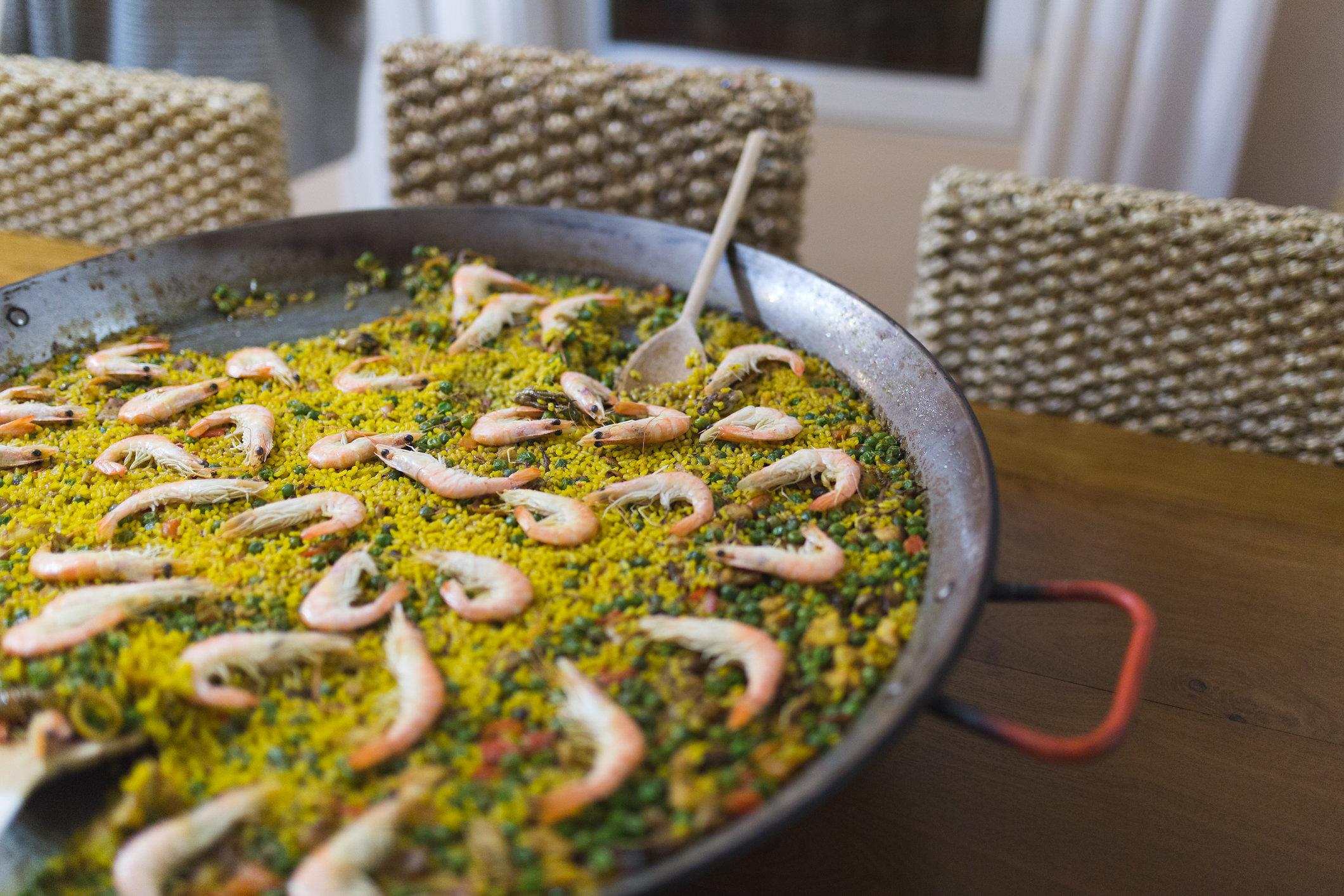 Seafood paella (Photo by Tanya Weekes)