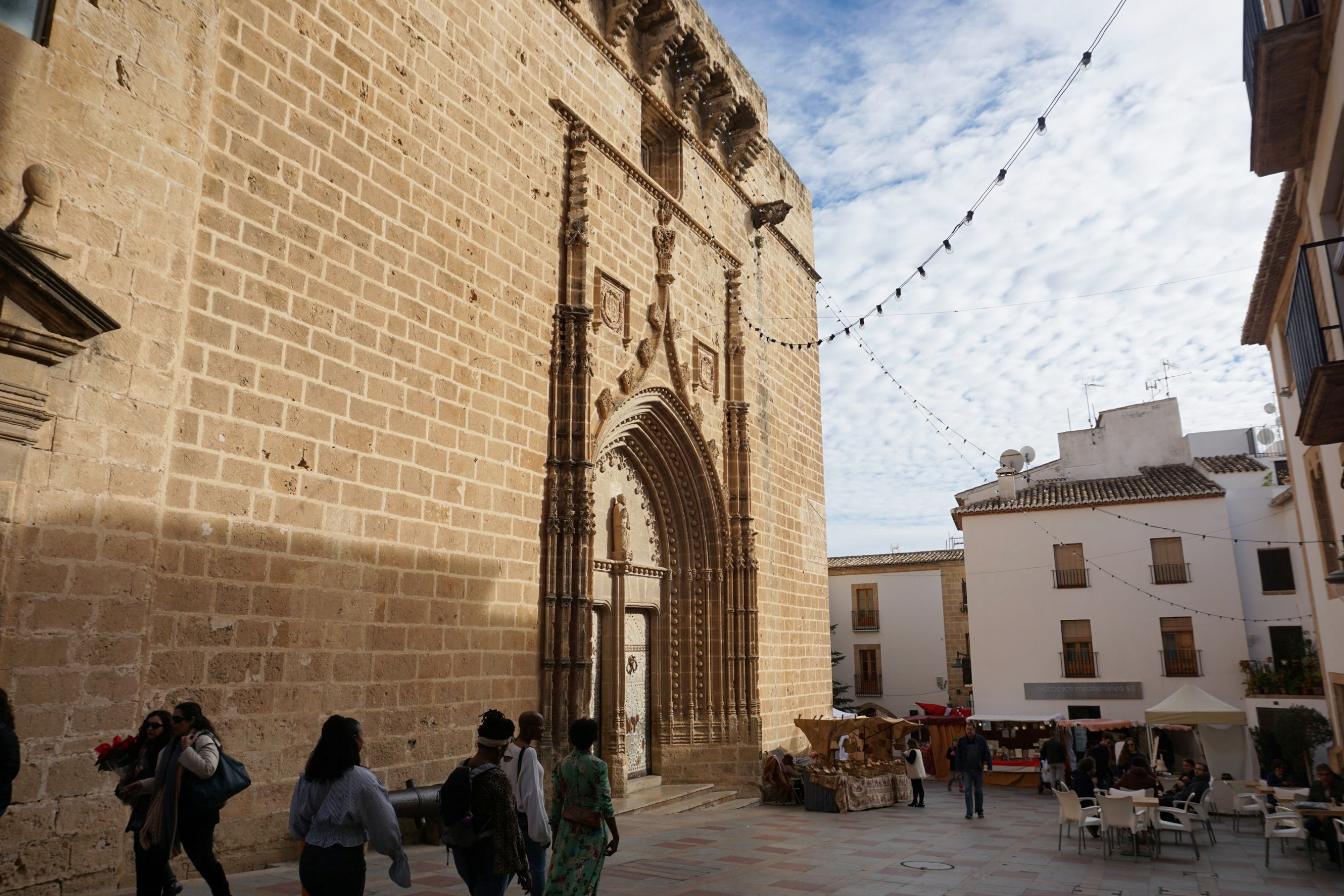 Church of Sant Bartomeu in downtown Jávea, Spain