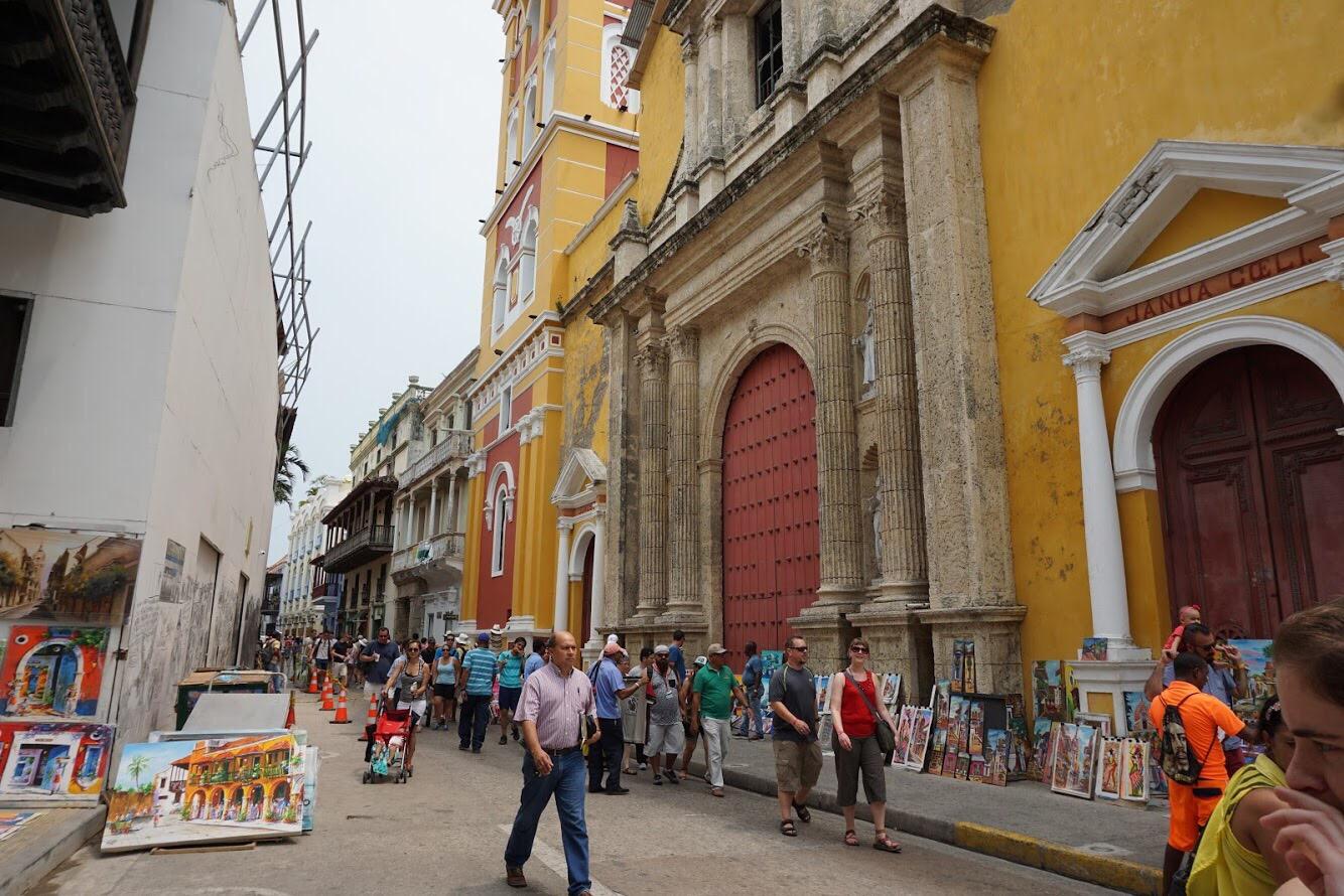 Cartagena Colombia art.JPG