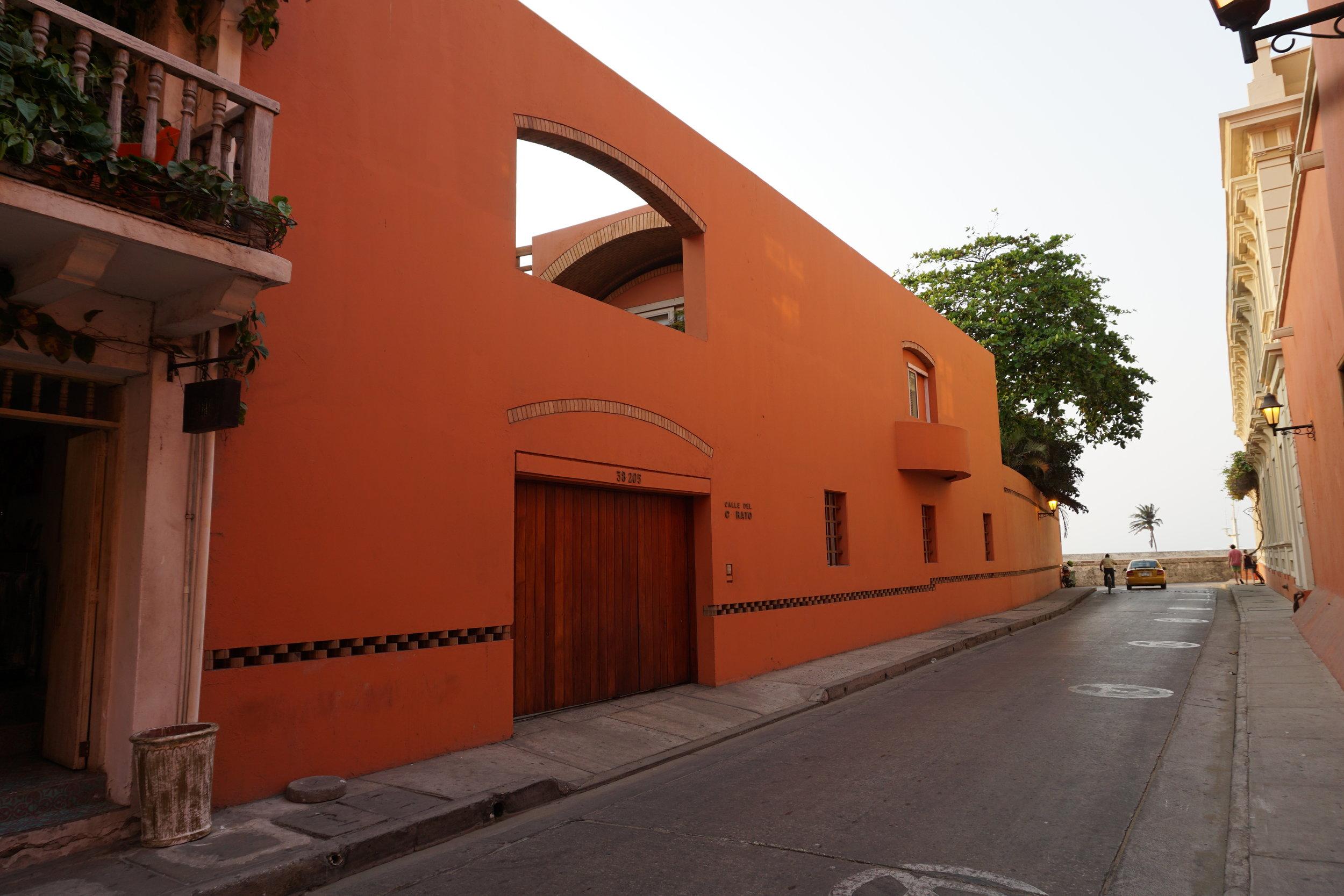 The home of Gabriel García Márquez