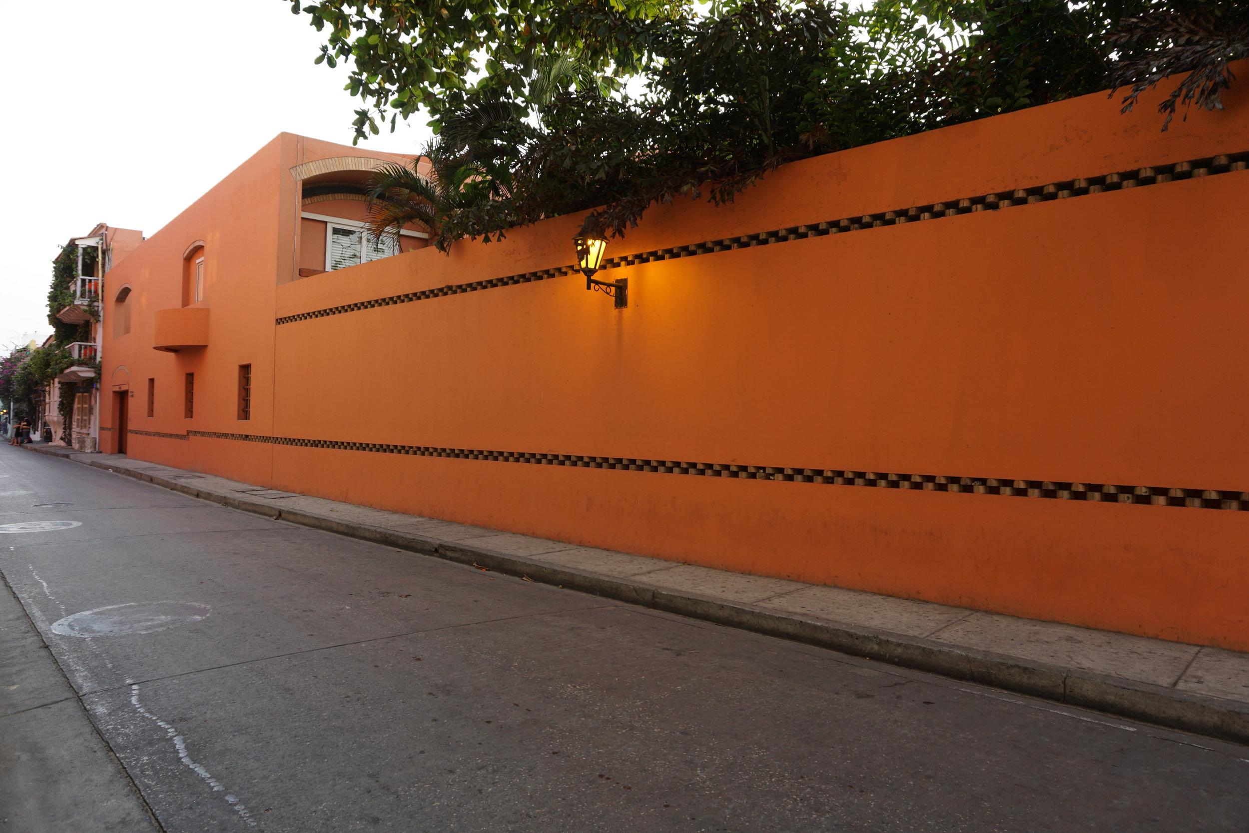 Cartagena Colombia Gabriel Garcia Marquez home.JPG