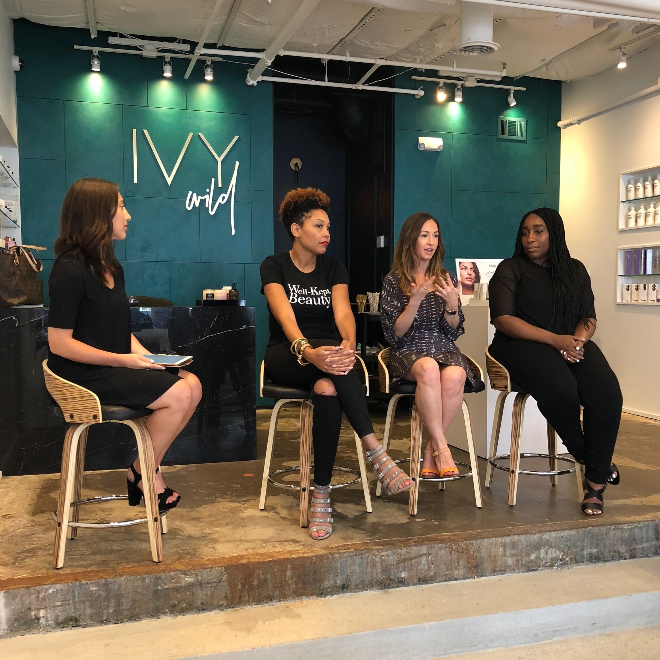 Clean beauty panel