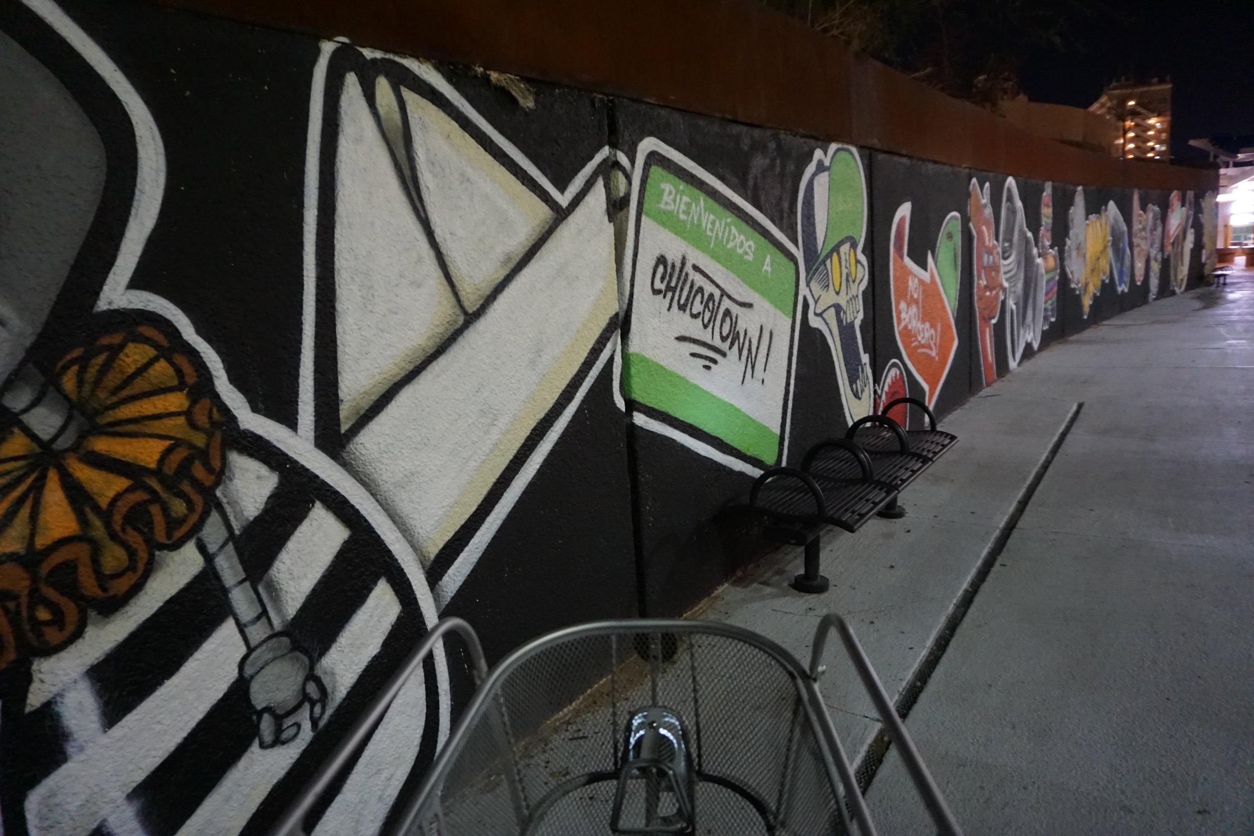 El Paso Texas art murals bike tour
