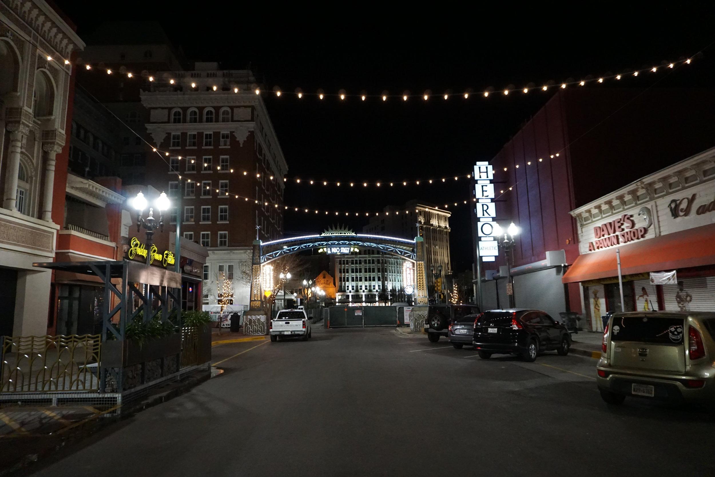 El Paso Street, Texas