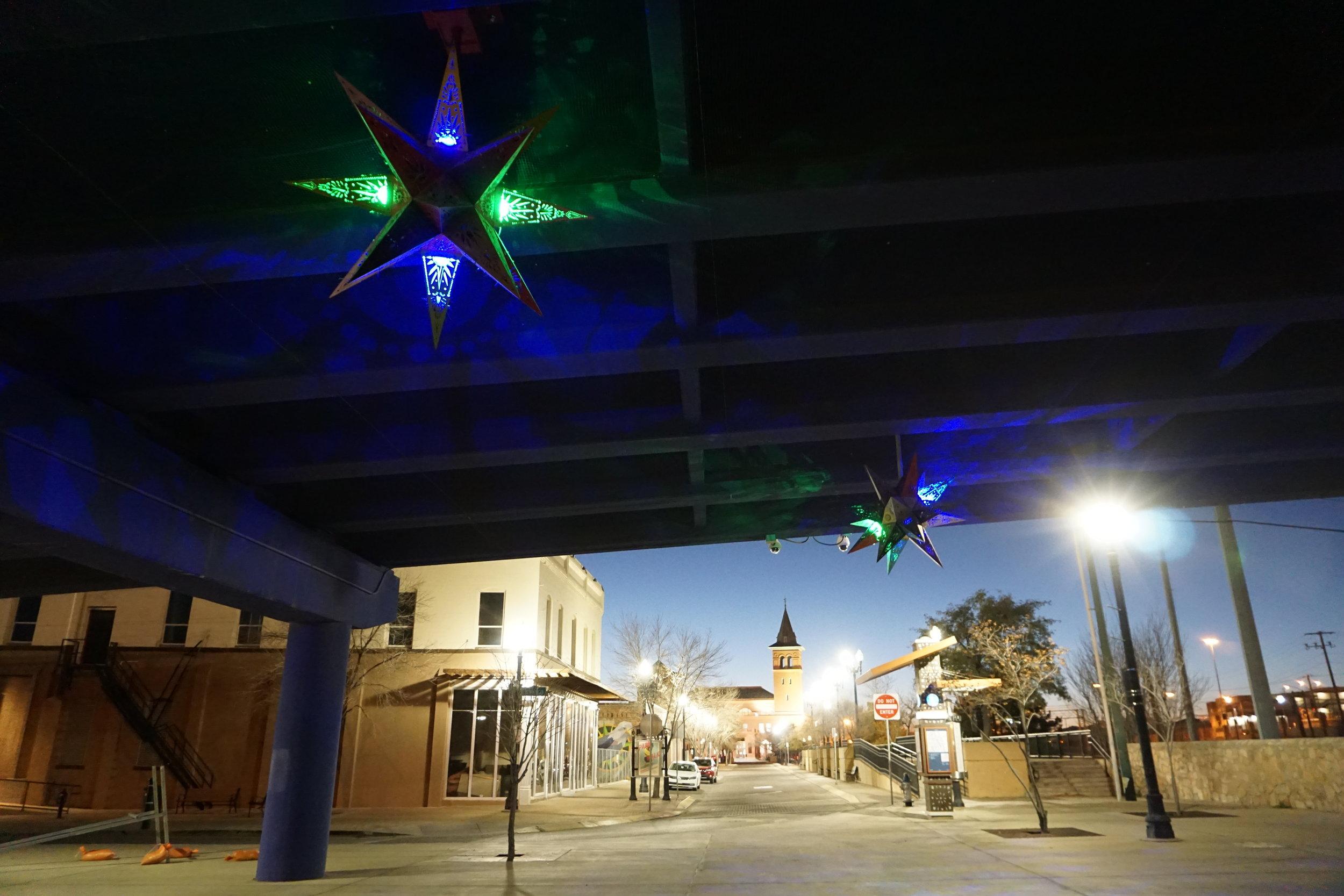 El Paso, Texas at night