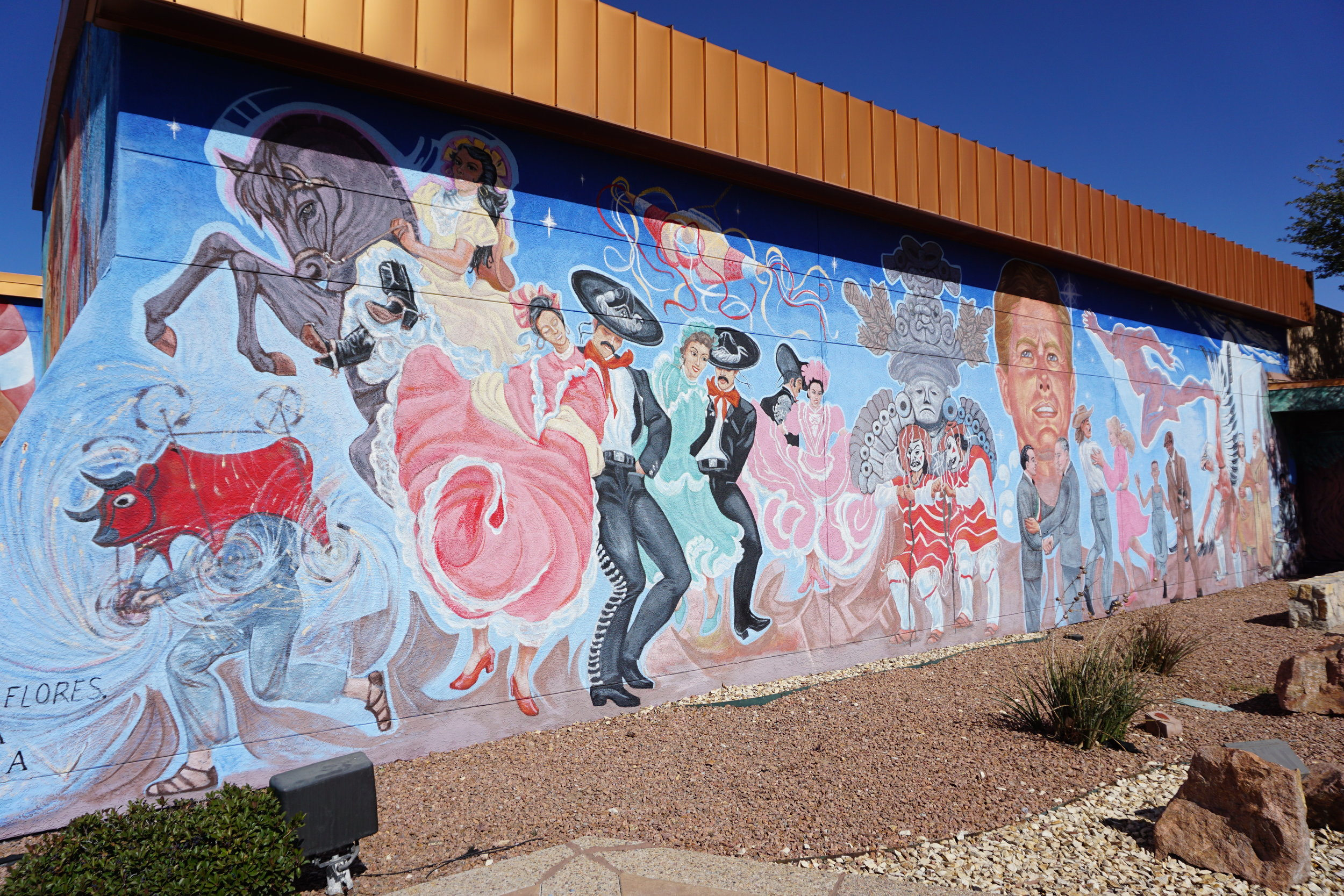 """Nuestra Herencia/Our Heritage"" mural"