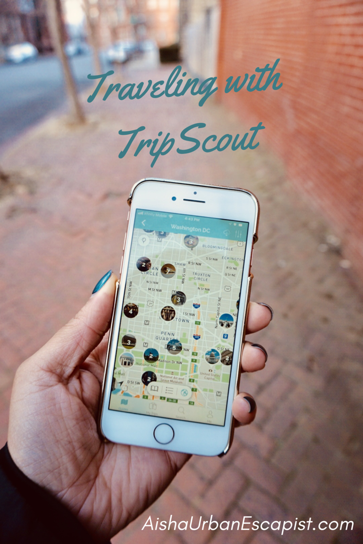 Traveling with TripScout