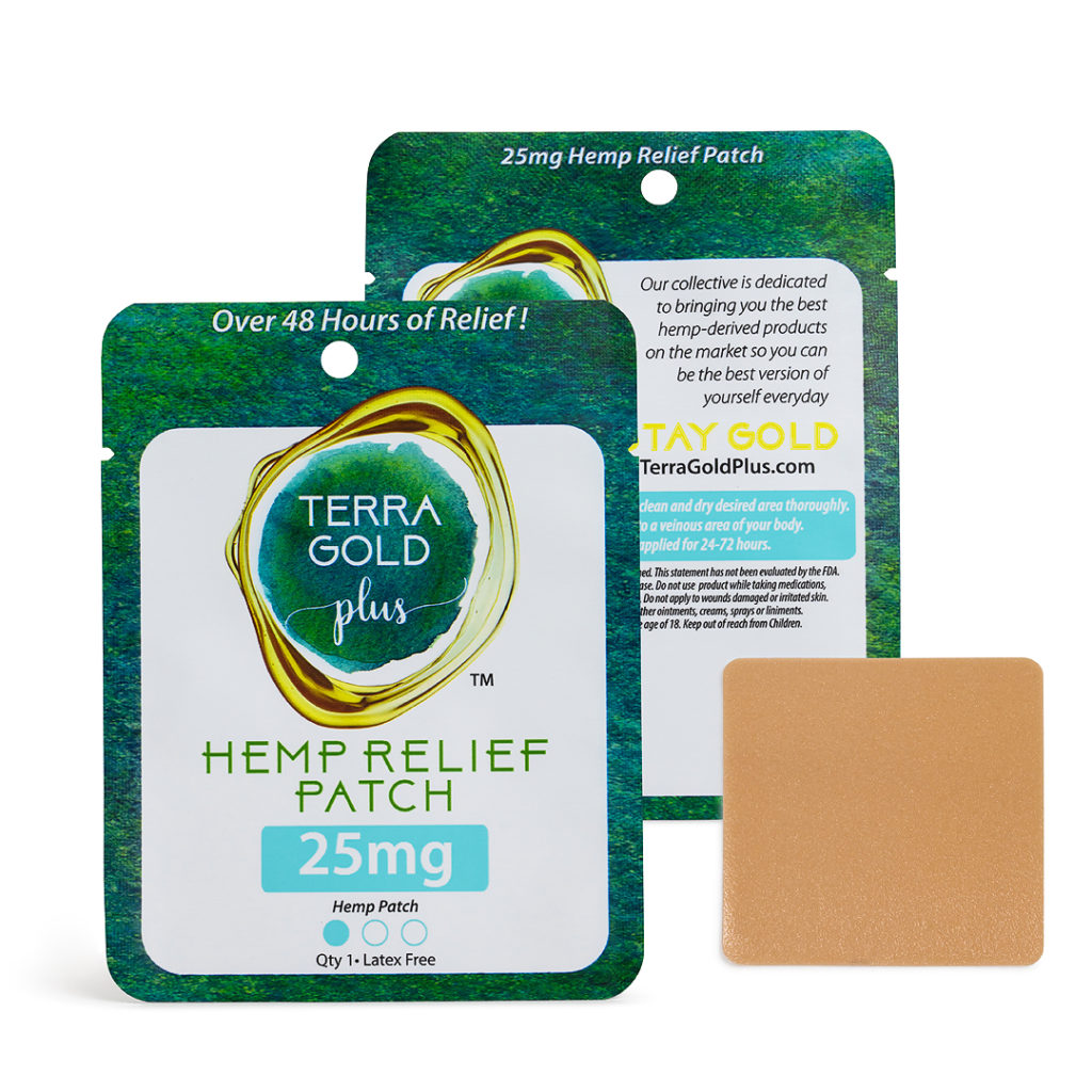 Transdermal Patch 25mg CBD - Over 72 hours of anti-inflammatory relief! Leave the confusing pill schedules to the prescriptions. Our Cannabinoid Rich Transdermal Patch is perfect for those looking for all-day relief without the hassle. Don't be fooled by its size, the patch delivers 1 to 2 mgs of juicy cannabinoids into your system every hour, for up to 48 hours (yes, seriously). You can jump right in the water and exercise immediately after applying it, and it'll come right off when you're ready, unlike that embarrassing tattoo you got in college.Use and storage: The Transdermal Patch works best next to a vein. You can stick it on your inner arm, top of your foot, the front of the hips, or wherever is most comfortable. For best results, clean and dry the area thoroughly, peel back the clear top layer, and place on the skin. If you don't plan on using it immediately, store in a cool, dry place.