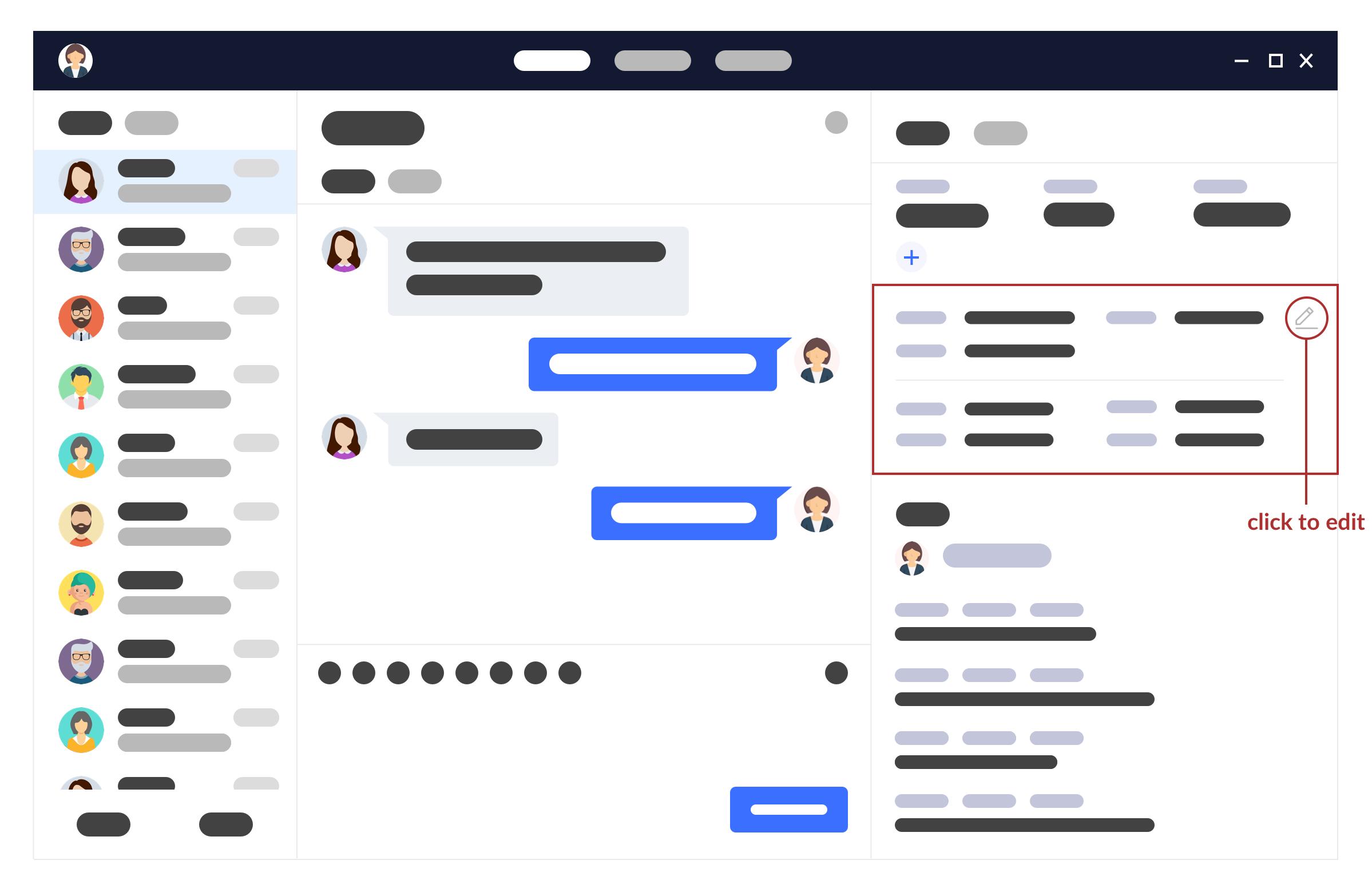 (Before: Messenger Platform - Editing Client's Info)