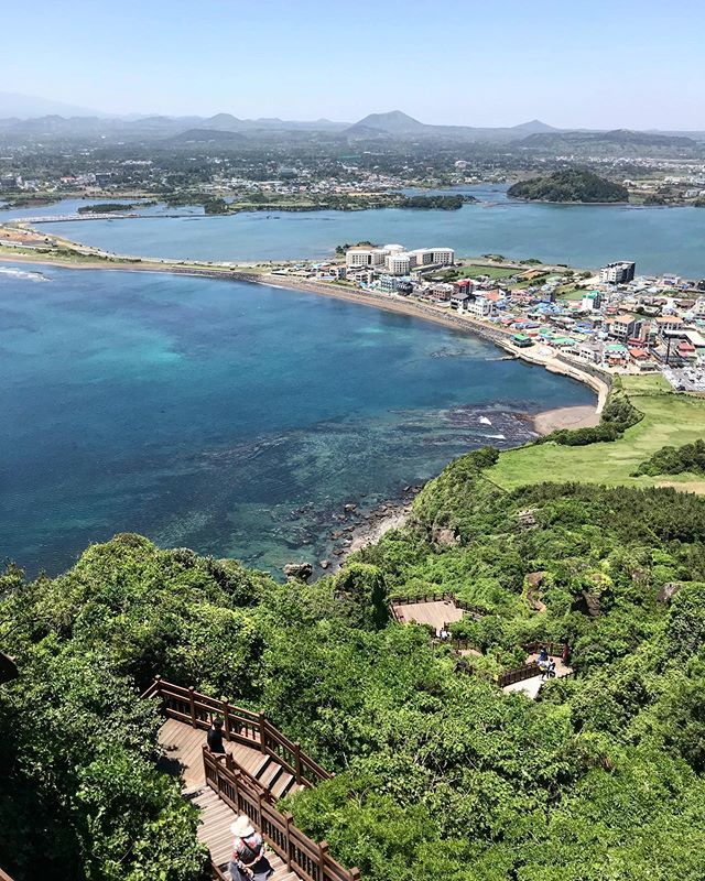 Summer is here🌊🍃🍊 #jeju#panorama#vacay