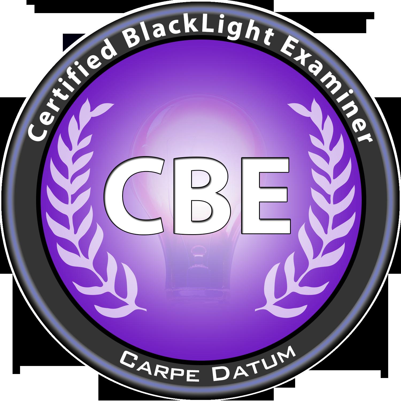 CBE  Certified Blacklight Examiner