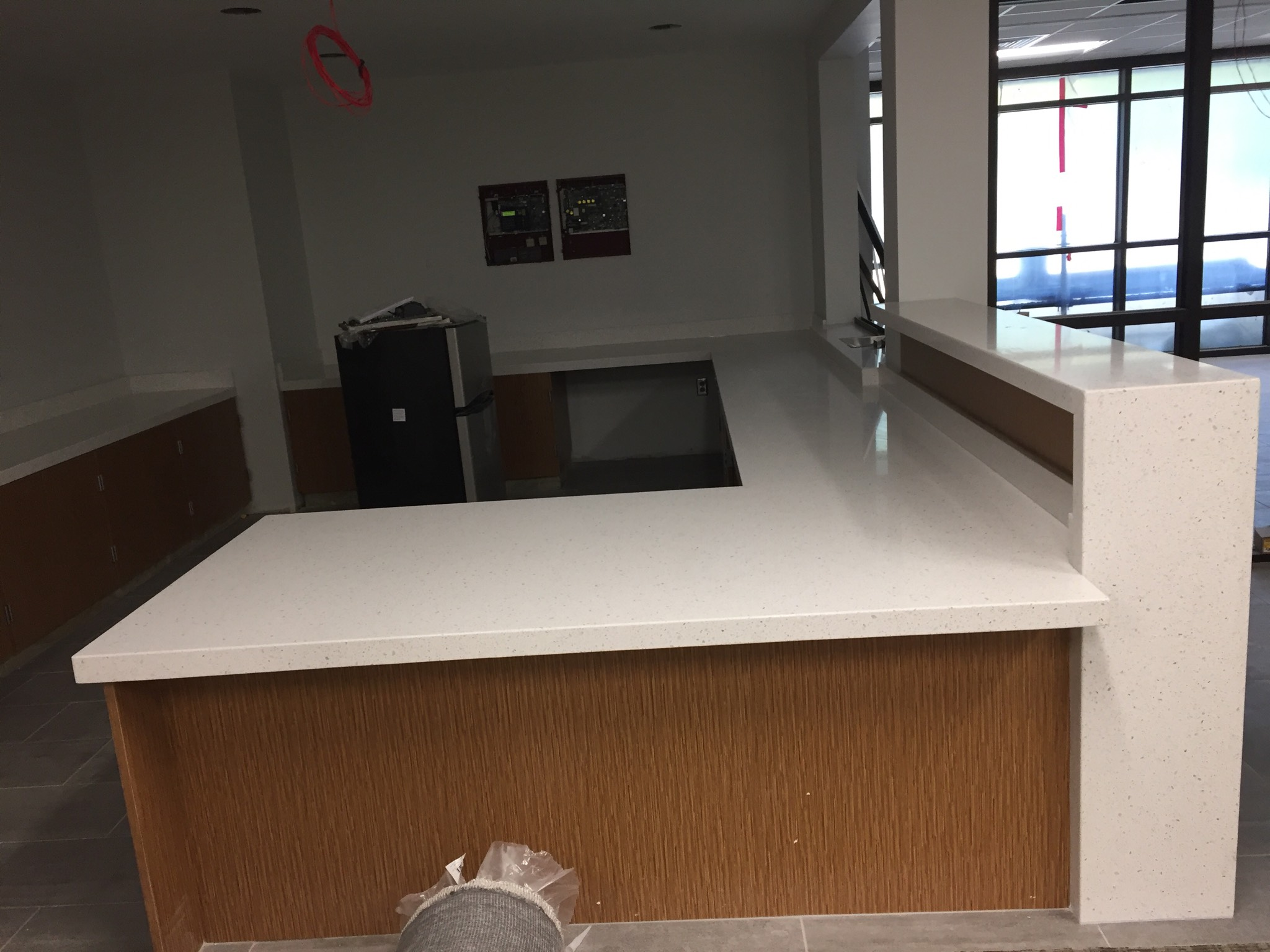 Middle school front desk