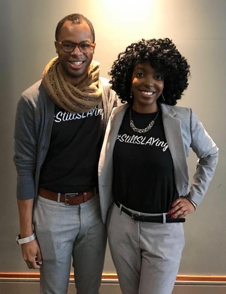 Derrick & Brittany,  Partners in SLAY