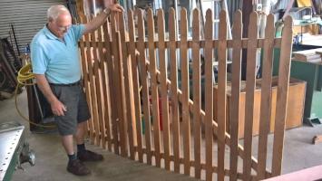Western Red Cedar gates - $400