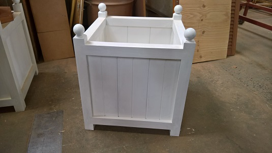 Hardwood Planter Box - $150