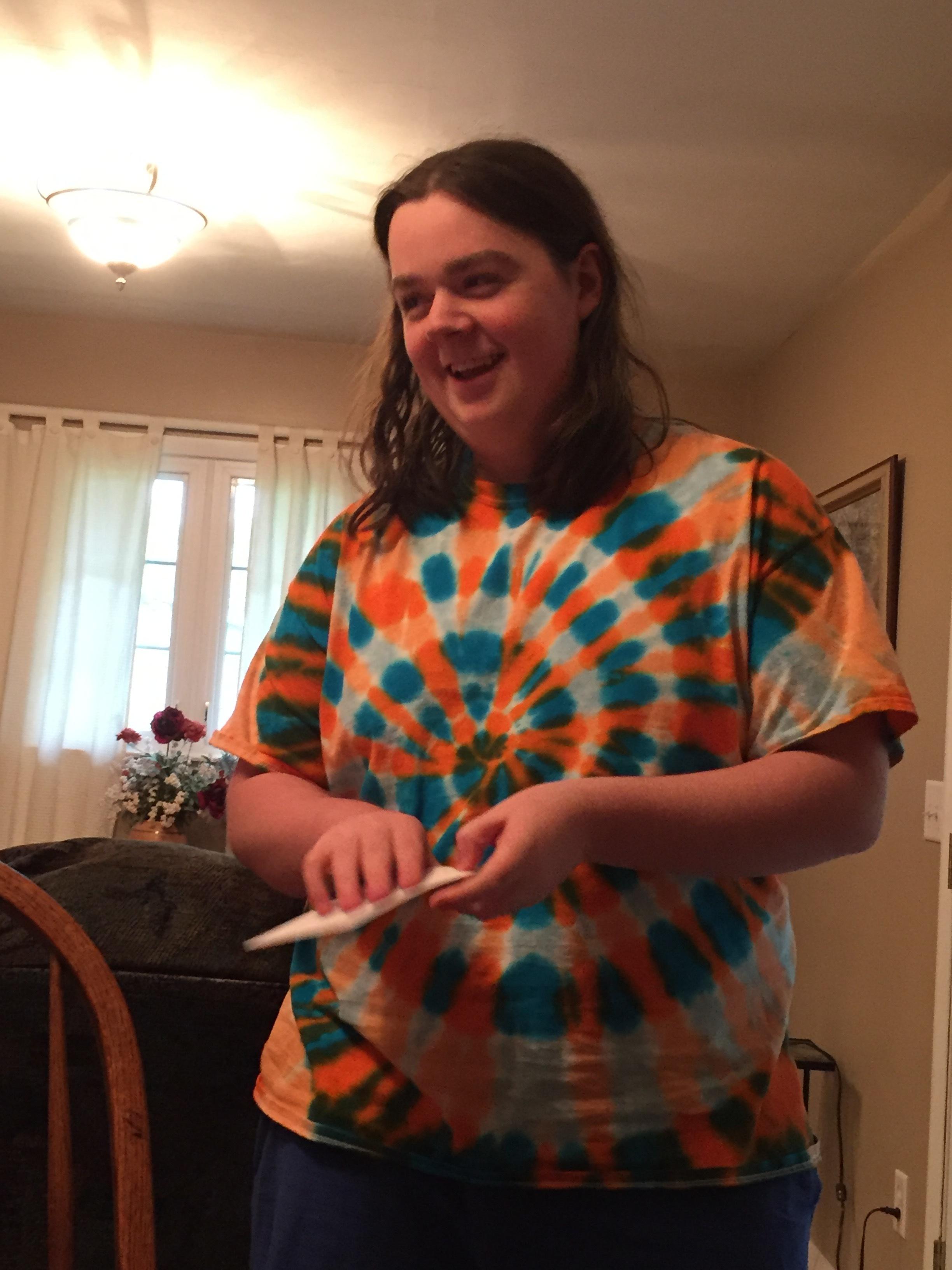 Another tie dye birthday