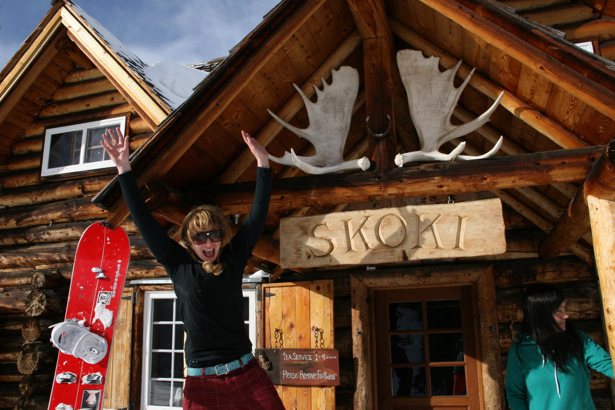 Skoki Lodge is fun! Alberta, Canada CHASEWINTER/SPENCER FRANCEY