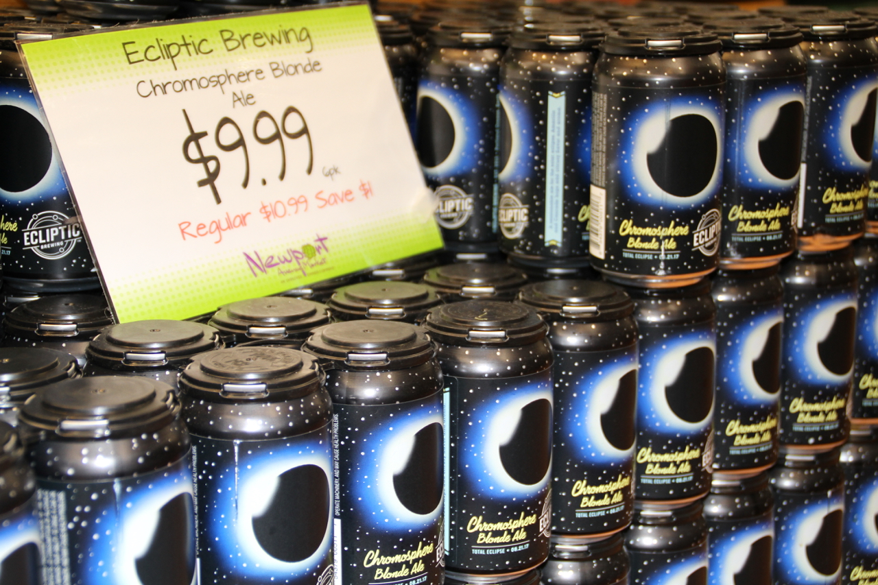 Eclipse beer in Oregon.... of course.